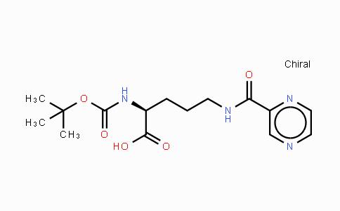 201046-36-8 | Boc-Orn(pyrazinylcarbonyl)-OH