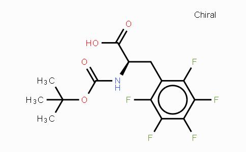 MC436660 | 136207-26-6 | N-叔丁氧羰基-D-五氟苯丙氨酸