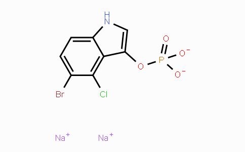 102185-33-1 | 5-Bromo-4-chloro-1H-indol-3-yl phosphate disodium salt