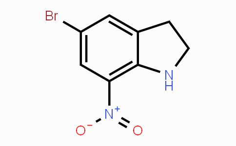 80166-90-1 | 5-Bromo-7-nitroindoline
