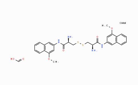 201930-05-4   (H-Cys-4MβNA)₂ acetate salt
