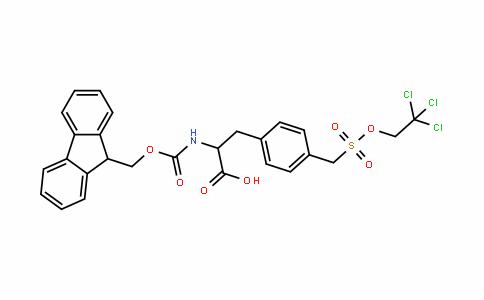 1146758-11-3 | Fmoc-4-sulfomethyl-Phe(Tce)-OH