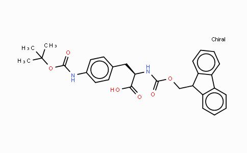 214750-77-3 | Fmoc-p-amino-D-Phe(Boc)-OH