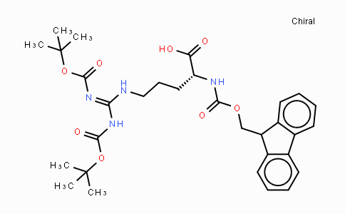 214852-34-3 | Fmoc-D-Arg(Boc)₂-OH