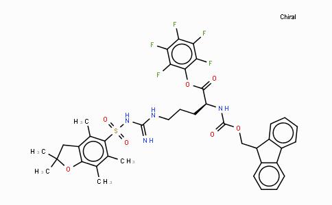 MC437078 | 200132-16-7 | N-ALPHA-FMOC-N-GAMMA-(2,2,4,6,7-五甲基二氢苯并呋喃-5-磺酰基)-L-精氨酸五氟苯酯