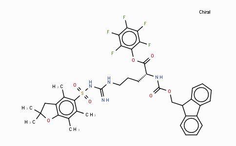 MC437079 | 200132-33-8 | N5-[[[(2,3-二氢-2,2,4,6,7-五甲基-5-苯并呋喃基)磺酰基]氨基]亚氨基甲基]-N2-[(9H-芴-9-基甲氧基)羰基]-D-鸟氨酸五氟苯酯