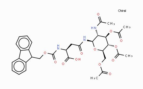 131287-39-3 | N-(9-芴甲氧羰基)-N'-(2-乙酰氨基-2-脱氧-3,4,6-三-O-乙酰基-beta-D-吡喃葡萄糖基)-L-天冬酰胺