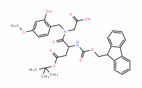 MC437137 | 1926163-00-9 | Fmoc-D-Asp(OtBu)-(Hmb)Gly-OH