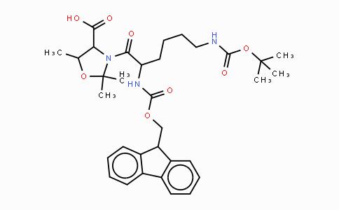 911838-56-7 | Fmoc-Lys(Boc)-Thr(Psi(Me,Me)pro)-OH