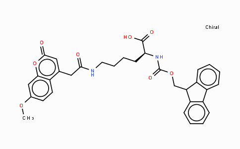 MC437421 | 386213-32-7 | Fmoc-Lys(Mca)-OH