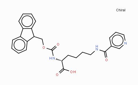 MC437432 | 252049-12-0 | Fmoc-D-Lys(nicotinoyl)-OH