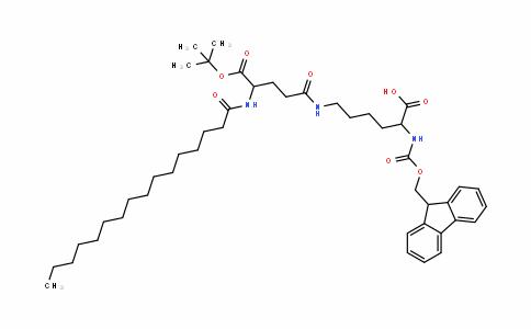 MC437434 | 1491158-62-3 | Fmoc-Lys(palmitoyl-Glu-OtBu)-OH