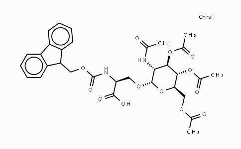 160067-63-0   Fmoc-Ser(GlcNAc(Ac)₃-β-D)-OH