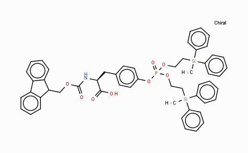 MC437619 | 158817-11-9 | N-[(9H-芴-9-基甲氧基)羰基]-O-[双[2-(甲基二苯基硅烷基)乙氧基]磷酰]-L-酪氨酸
