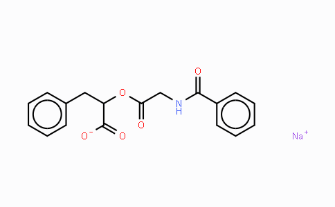 7662-40-0 | O-Hippuryl-DL-β-phenyllactic acid sodium salt