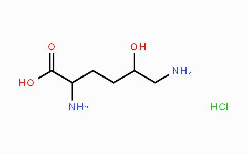 13204-98-3 | H-DL-δ-Hydroxy-DL-Lys-OH HCl