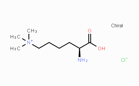 MC437875   55528-53-5   H-Lys(Me)₃-OH chloride hydrochloride salt