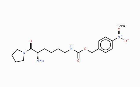 136259-18-2   H-Lys(4-nitro-Z)-pyrrolidide HCl