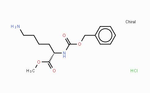MC438451 | 26348-68-5 | N-苄氧羰基-L-赖氨酸甲酯盐酸盐