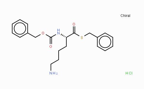 69861-89-8   Z-Lys-SBzl HCl