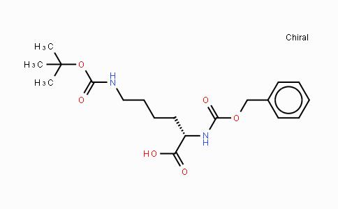 2389-60-8 | Nε-(叔丁氧羰基)-Nα-苄氧羰基-L-赖氨酸
