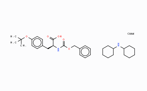 16879-90-6 | N-苄氧羰基-O-叔丁基-L-酪氨酸二环己胺盐