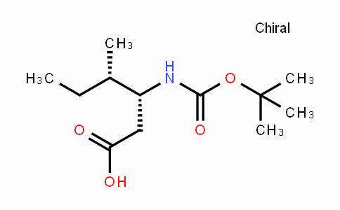 DY439107   218608-82-3   Boc-β-HoIle-OH Boc-L-β-homoisoleucine