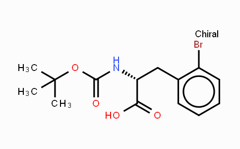 261165-02-0 | Boc-2-溴-D-苯丙氨酸