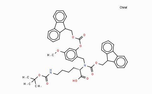 MC439266 | 166881-56-7 | Fmoc-(Fmoc-Hmb)-Lys(Boc)-OH