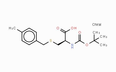 MC439300 | 336182-03-7 | N-叔丁氧羰基-S-(4-甲基苄基)-L-半胱氨酸