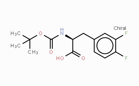 MC439340 | 198474-90-7 | BOC-L-3,4-二氟苯丙氨酸