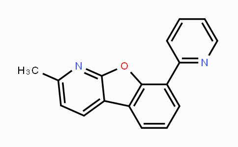 1609373-99-0 | 2-methyl-8-(pyridin-2-yl)benzofuro[2,3-b]pyridine