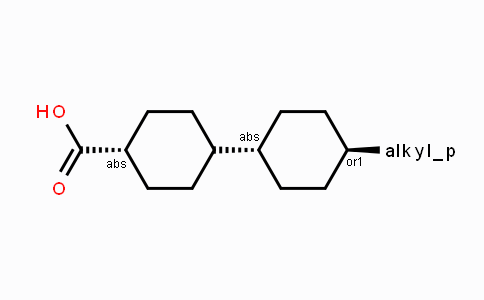 DY440464 | Trans-4-(trans-4'-n-alkylcyclohexyl)cyclohexane carboxylic acid