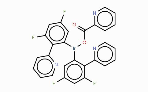 376367-93-0 | 双(4,6-二氟苯基吡啶-N,C2)吡啶甲酰合铱
