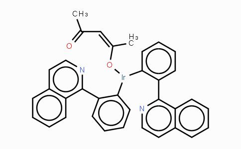 435294-03-4 | 二(1-苯基异喹啉)(乙酰丙酮)合铱