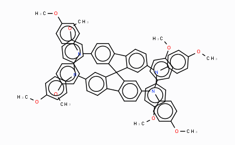 MC440707 | 207739-72-8 | 2,2',7,7'-四[N,N-二(4-甲氧基苯基)氨基]-9,9'-螺二芴