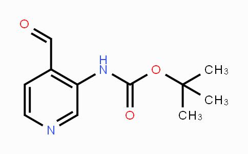 116026-95-0 | tert-butyl 4-formylpyridin-3-ylcarbamate