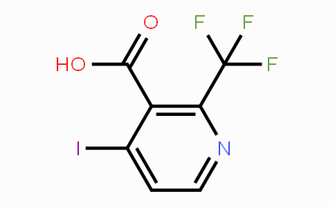 749875-19-2 | 4-iodo-2-(trifluoromethyl)nicotinic acid