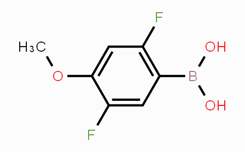 897958-93-9 | 2,5-difluoro-4-methoxyphenylboronic acid