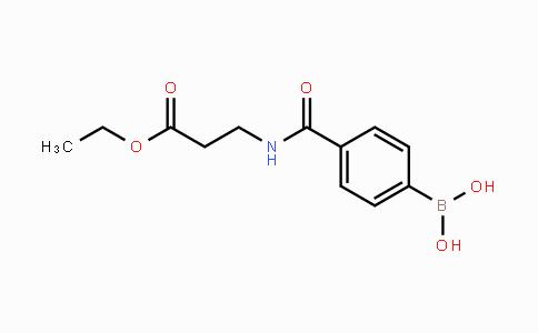 850568-19-3 | 4-(3-ethoxy-3-oxopropylcarbamoyl)phenylboronic acid
