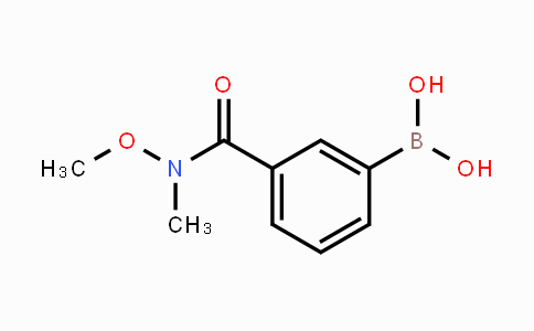 723281-57-0 | 3-(methoxy(methyl)carbamoyl)phenylboronic acid