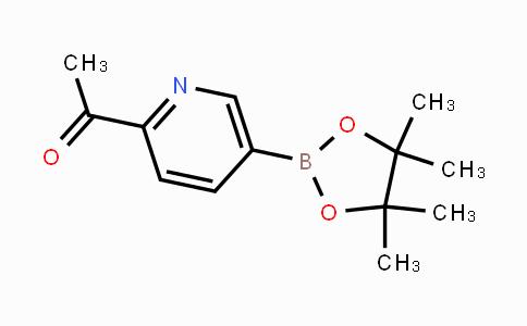 741709-59-1 | 1-(5-(4,4,5,5-tetramethyl-1,3,2-dioxaborolan-2-yl)pyridin-2-yl)ethanone