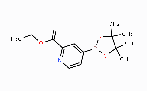 741709-56-8 | ethyl 4-(4,4,5,5-tetramethyl-1,3,2-dioxaborolan-2-yl)picolinate