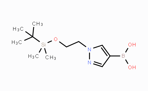DY441613 | 930596-74-0 | (1-(2-((tert-butyldimethylsilyl)oxy)ethyl)-1H-pyrazol-4-yl)boronic acid