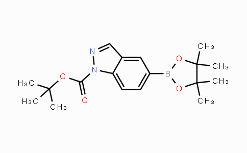 864771-44-8 | tert-butyl 5-(4,4,5,5-tetramethyl-1,3,2-dioxaborolan-2-yl)-1H-indazole-1-carboxylate