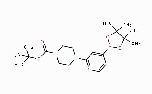 936250-21-4 | tert-butyl 4-(4-(4,4,5,5-tetramethyl-1,3,2-dioxaborolan-2-yl)pyridin-2-yl)piperazine-1-carboxylate