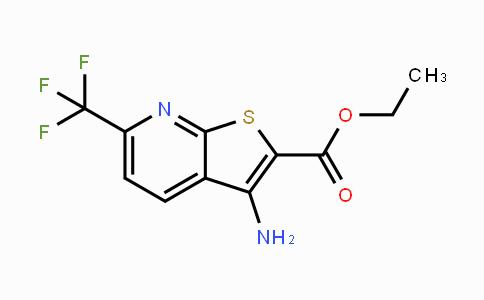 1042442-03-4 | ethyl 3-amino-6-(trifluoromethyl)thieno[2,3-b]pyridine-2-carboxylate