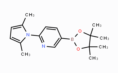 MC441927 | 885226-07-3 | 2-(2,5-dimethyl-1H-pyrrol-1-yl)-5-(4,4,5,5-tetramethyl-1,3,2-dioxaborolan-2-yl)pyridine