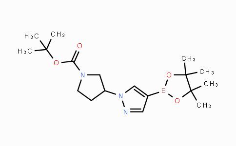 MC441965 | 1359974-18-7 | tert-butyl 3-(4-(4,4,5,5-tetramethyl-1,3,2-dioxaborolan-2-yl)-1H-pyrazol-1-yl)pyrrolidine-1-carboxylate