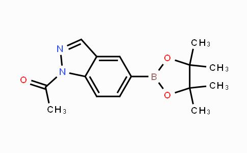 850363-83-6 | 1-(5-(4,4,5,5-tetramethyl-1,3,2-dioxaborolan-2-yl)-1H-indazol-1-yl)ethanone